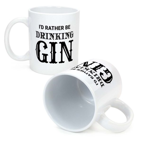 id rather be drinking gin
