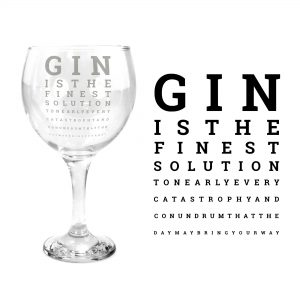 gin eye exam