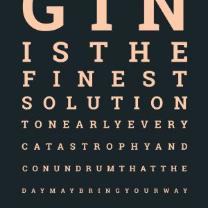 gin eye test