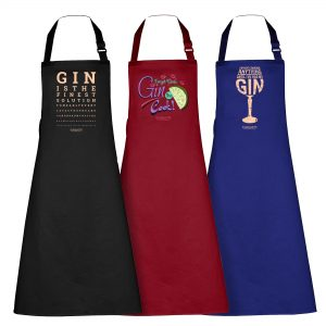 The Gin Collective Kitchen Aprons