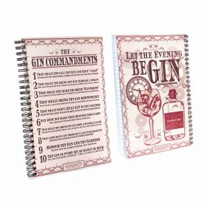 The Perect Gin Notepad - The Gin Commandments
