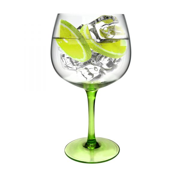 Green Stem Gin glass