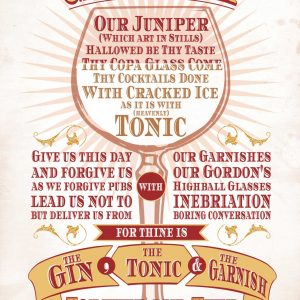 The gin prayer