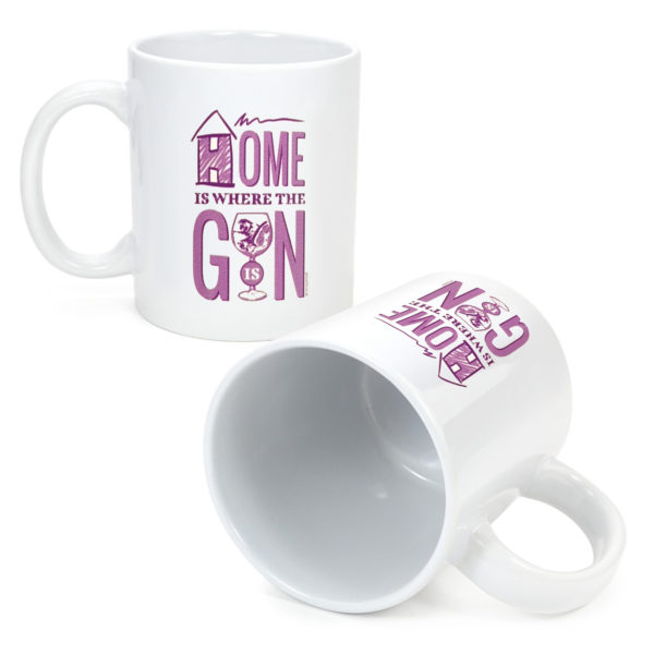 Home is wher the gin is mug