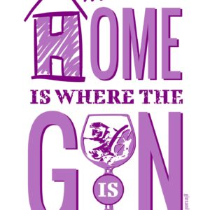 Home is where the gin is