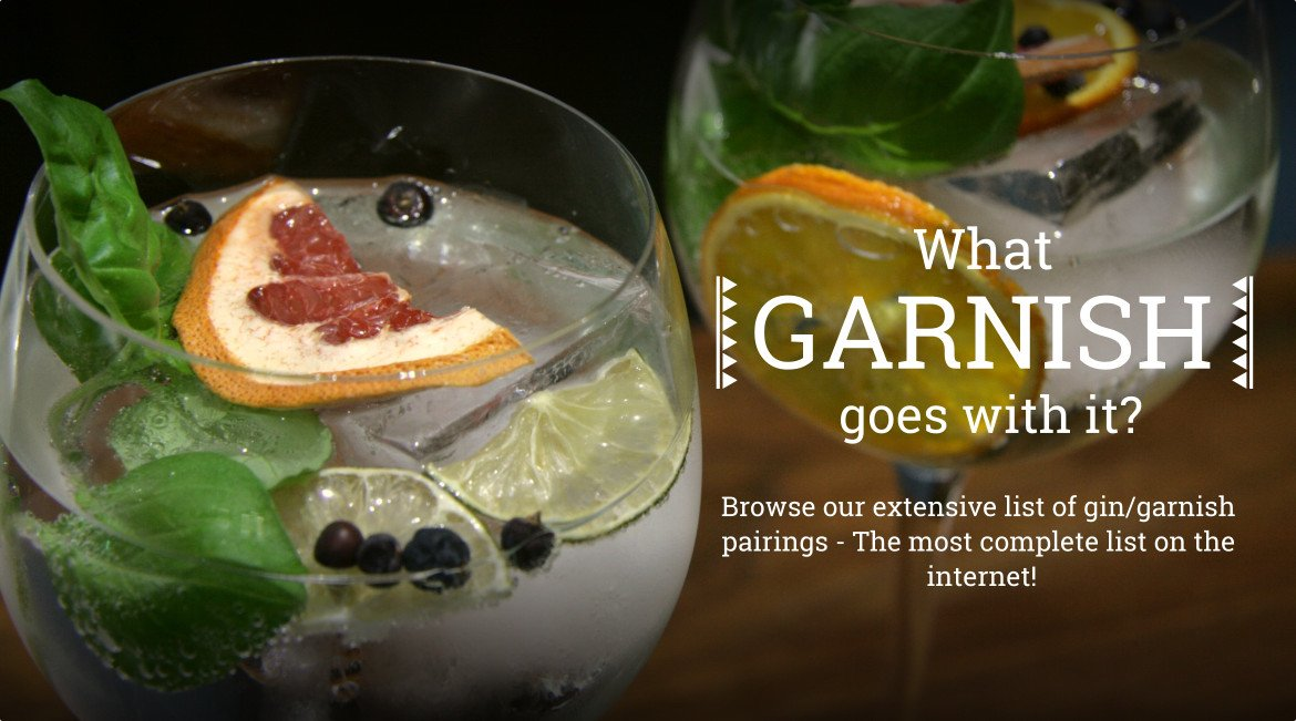 Gin Amp Garnish Guide Ginsanity