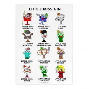 little miss gin poster