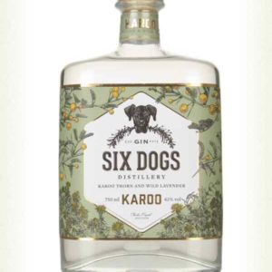 Six Dogs Karoo Gin (South Africa) 43%